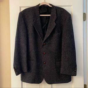 Harris Tweed Brown Blazer/Jacket